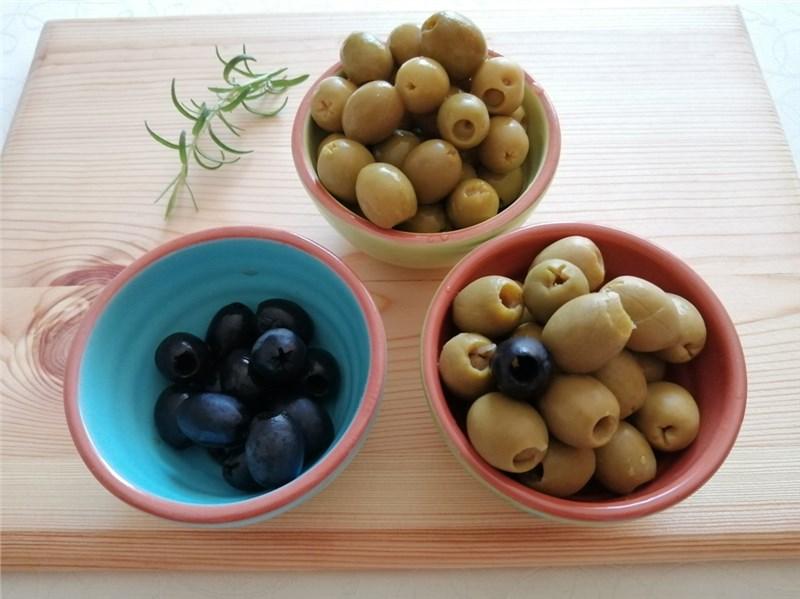 Olivové očká recepty