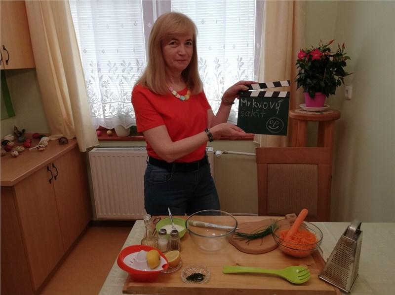 mrkvový šalát