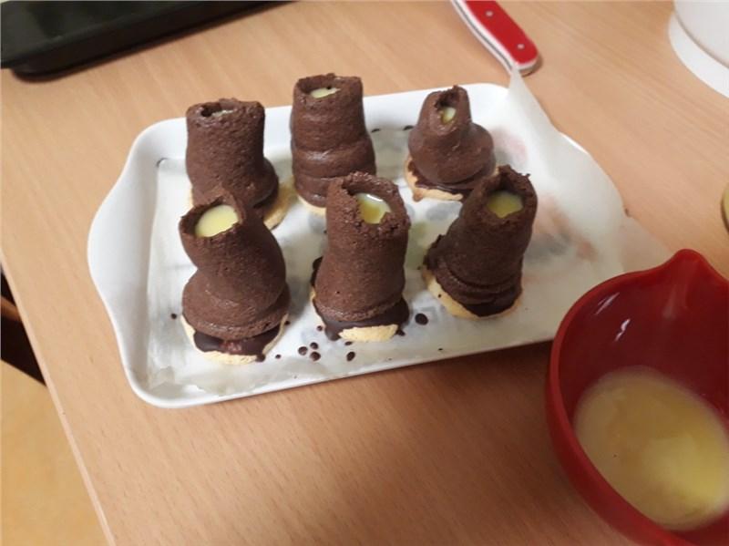 čokoládové koláče