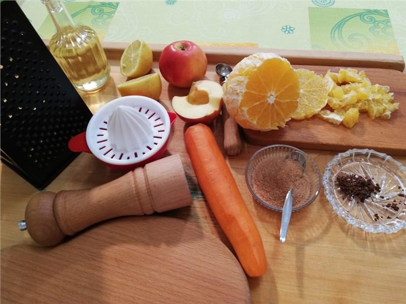 mrkvový šalát recept