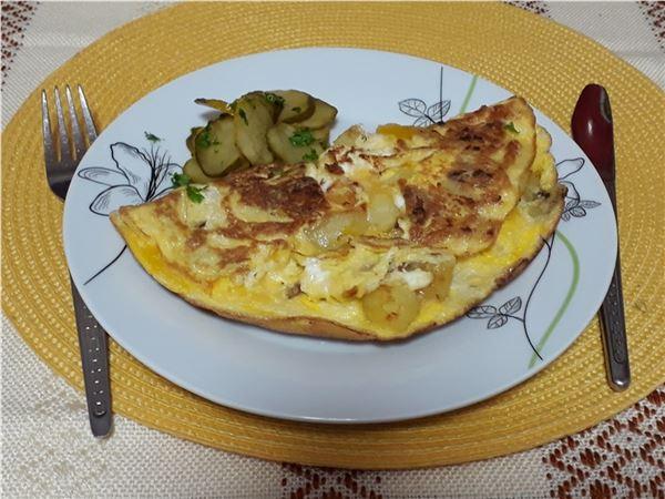 Sedliacka omeleta