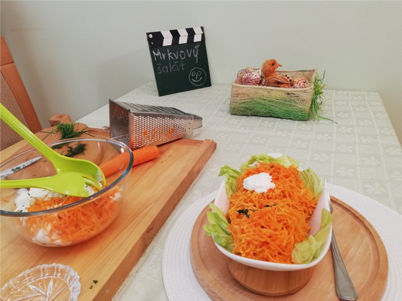 mrkvovy salat recept