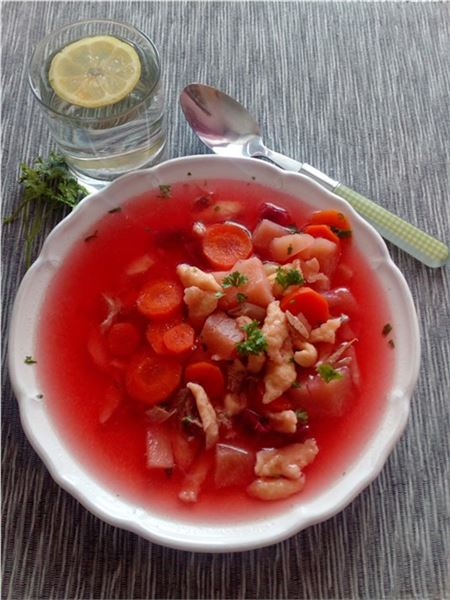 Králičia polievka