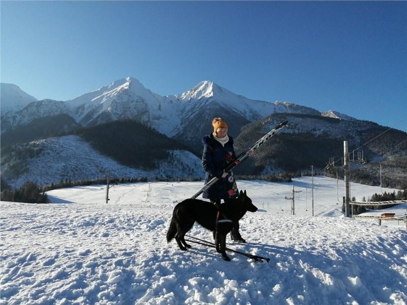Belianske Tatry Strednica lyžiarské stredisko