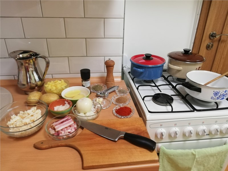 drzkova polievka recept