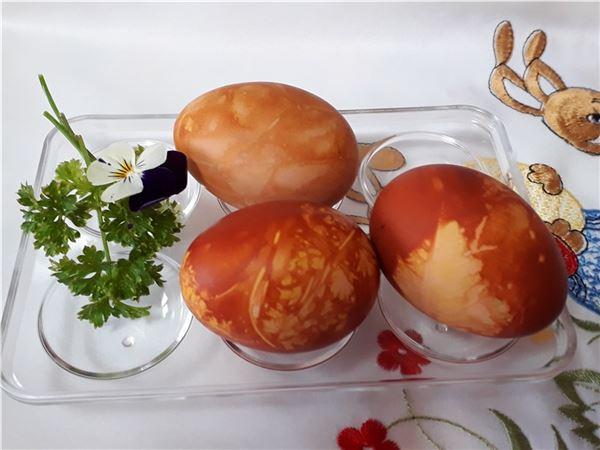 Zdobenie veľ.vajíčok, kraslíc