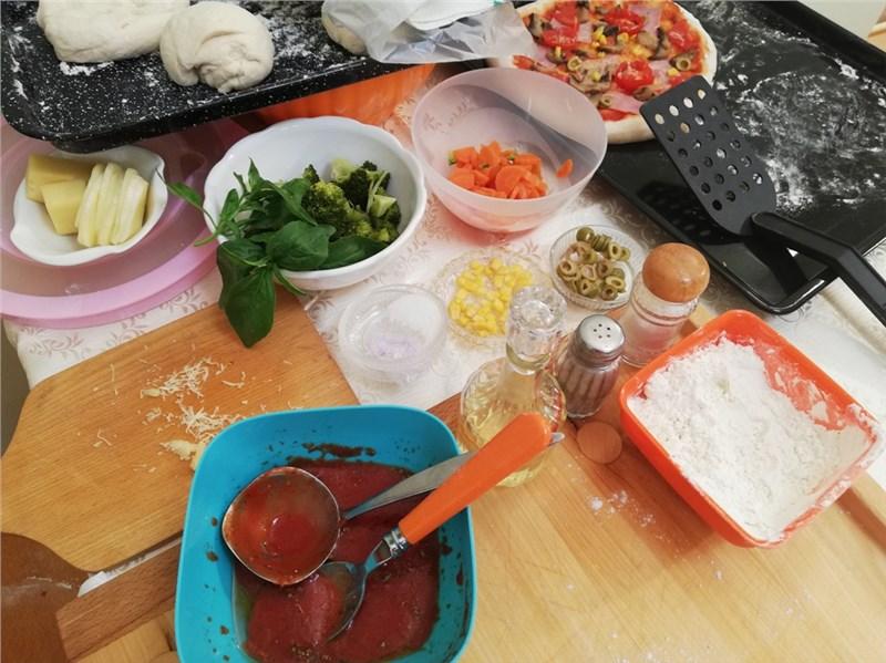 príprava pizze