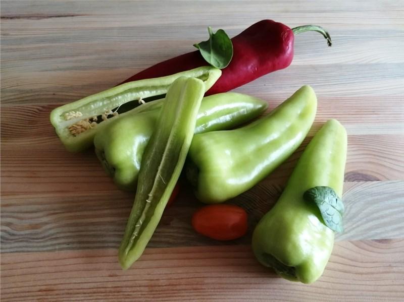 paprika zelenina