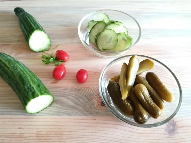 uhorky zelenina