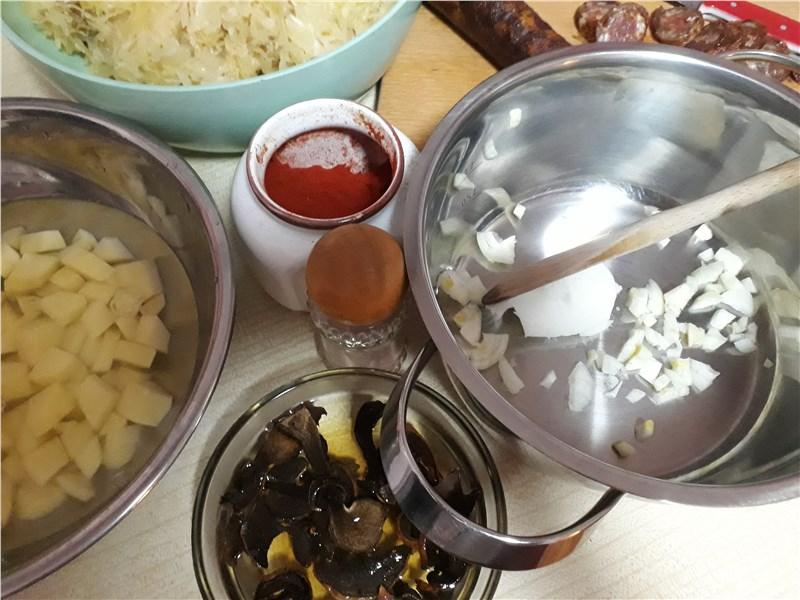 kapustnica recept