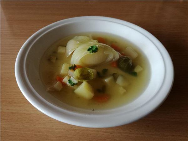 Cibuľová polievka