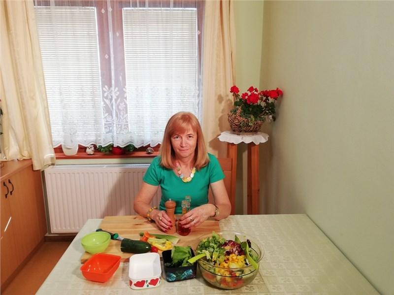 vegetariánsky šalát