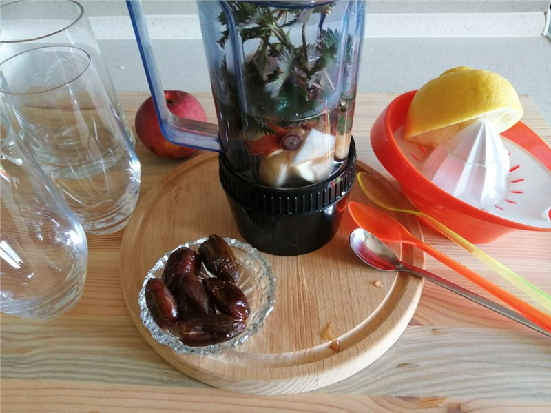 žihľavové smoothie recept
