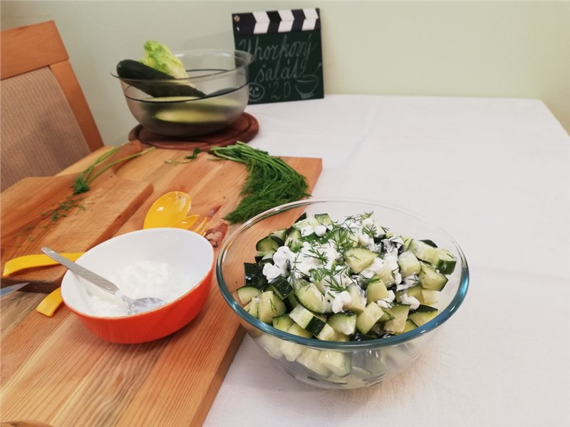 salat recept