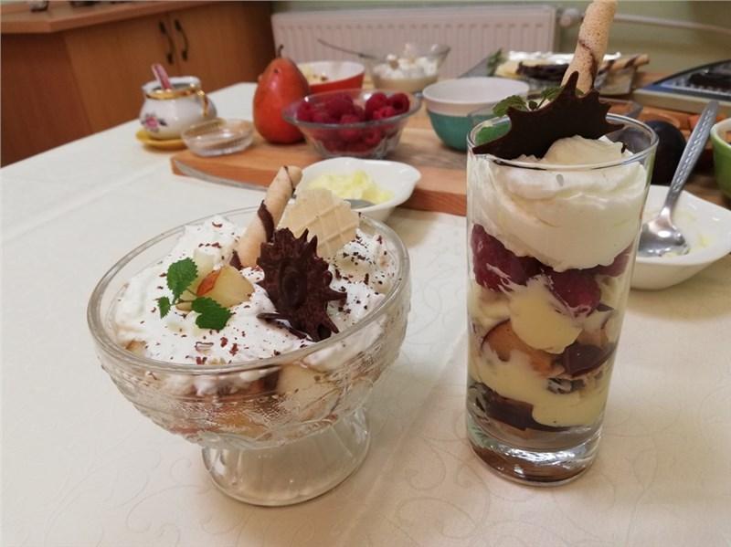 ovocné poháre recept