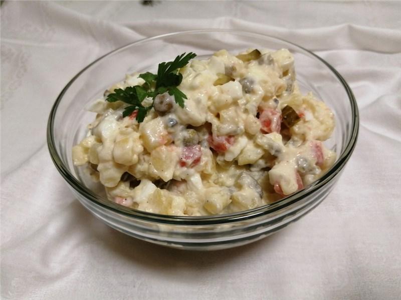 bramborovy salat recept