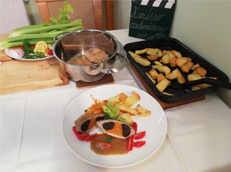 karé so zeleninou recept