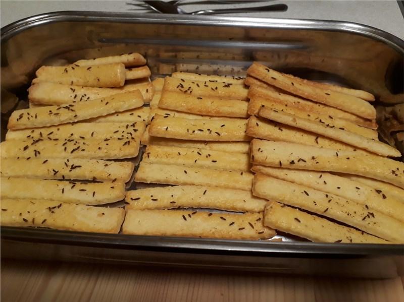 pečené slané tyčinky na párty