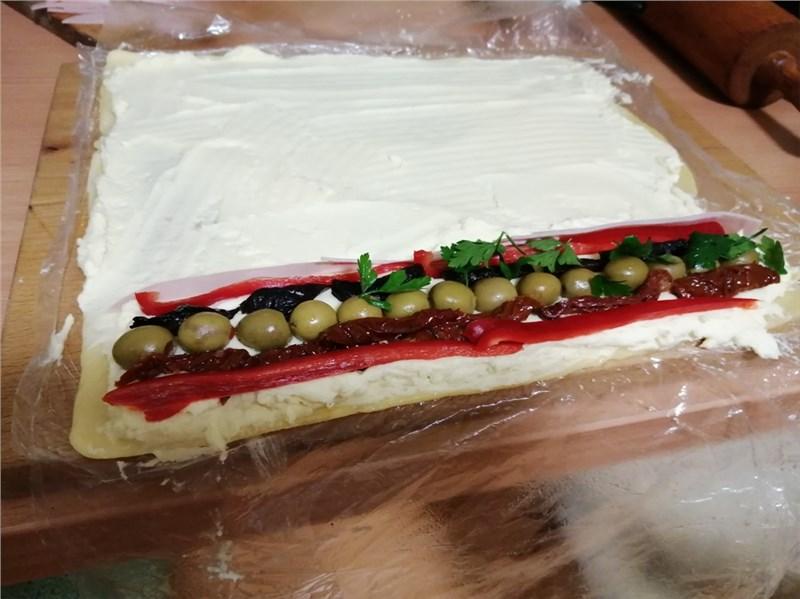 šunkovo syrova rolada