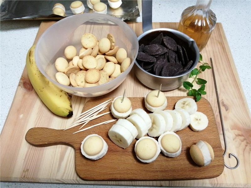 banány v čokláde recepty