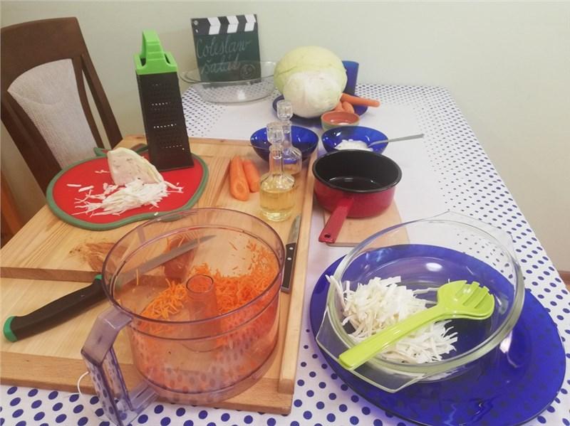 coleslav salat recepty