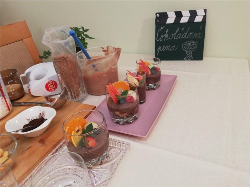 cokoladova pena recepty