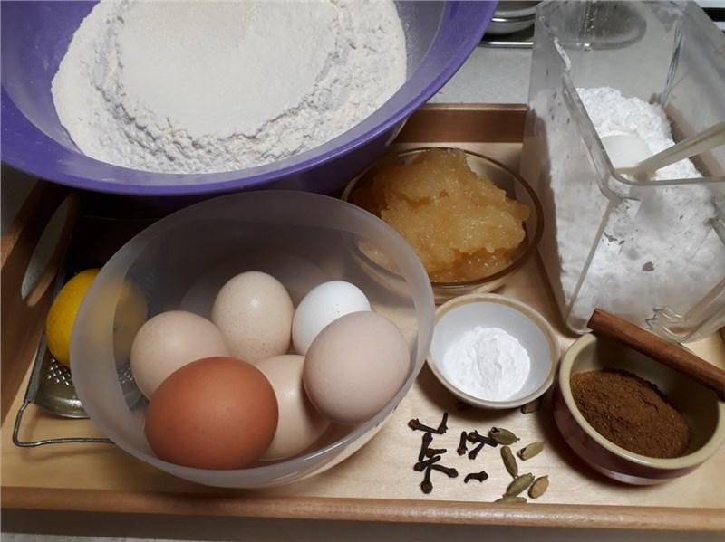 vajíčka na medovníčky