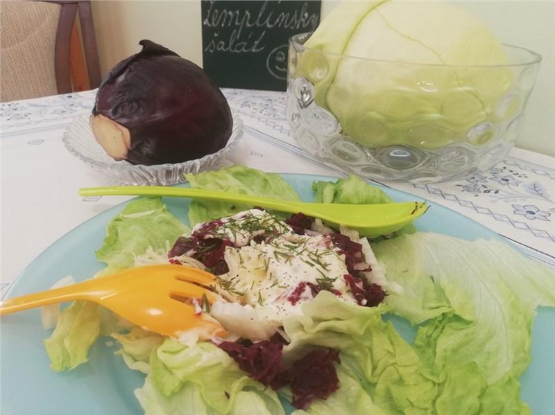 zeleninova salaty