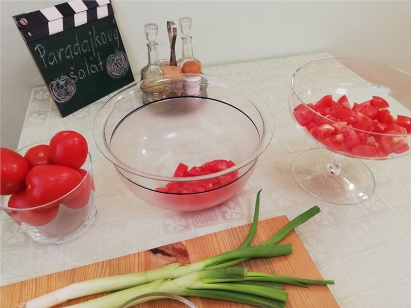 paradajkovy salat