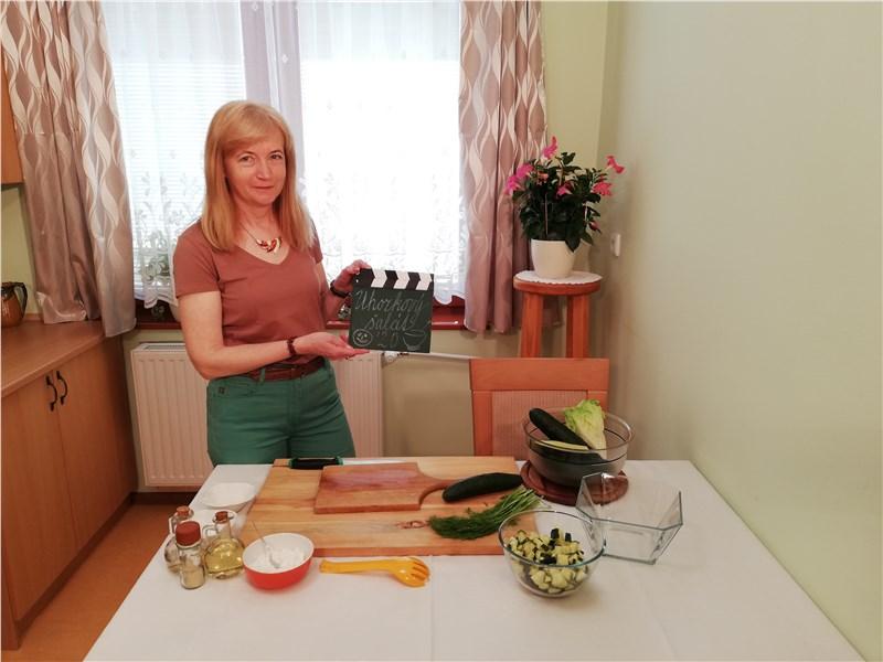 uhorkový šalát recept