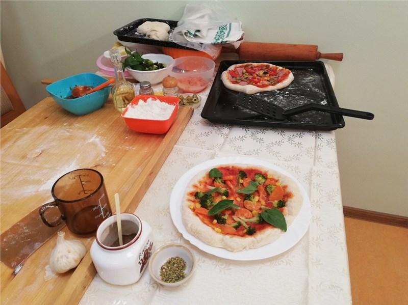 pečení pizzy
