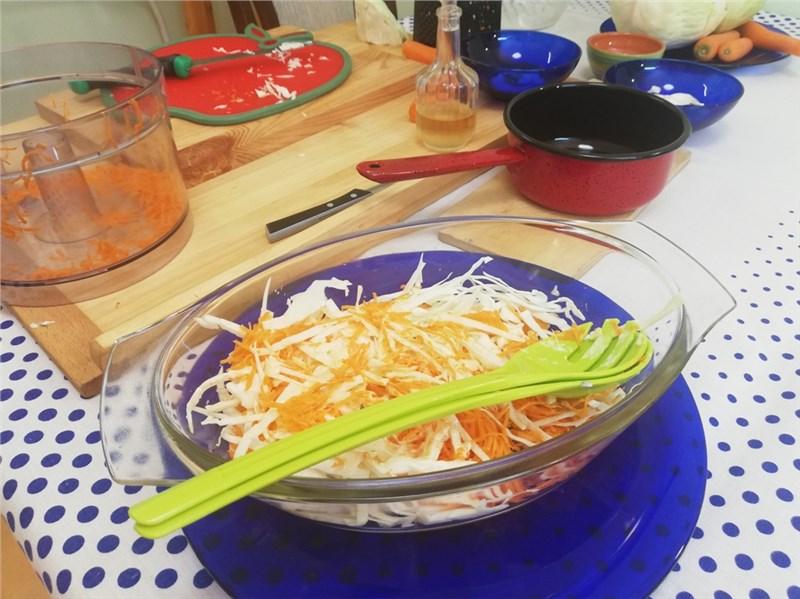 coleslaw salat jednoduchý recept