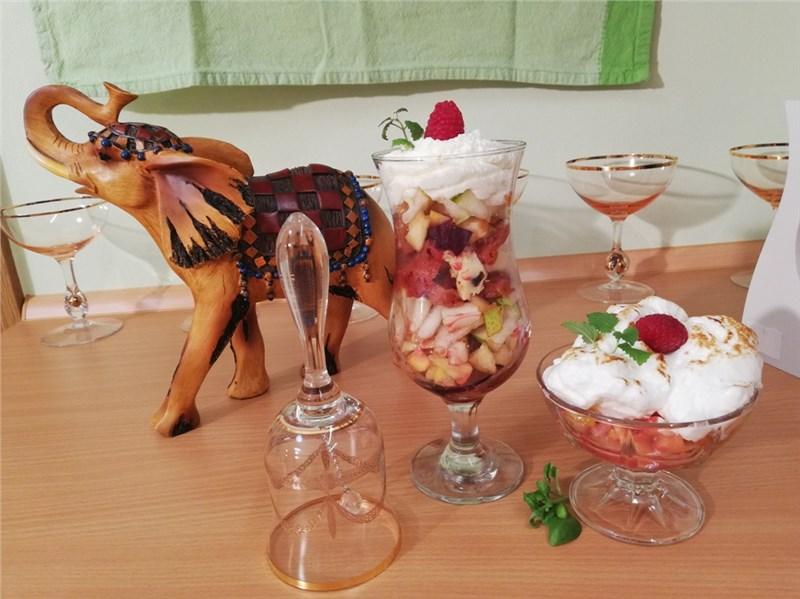 ovocné poháre recepty