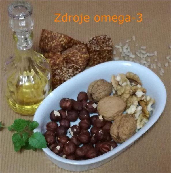 Omega-3 zdroje