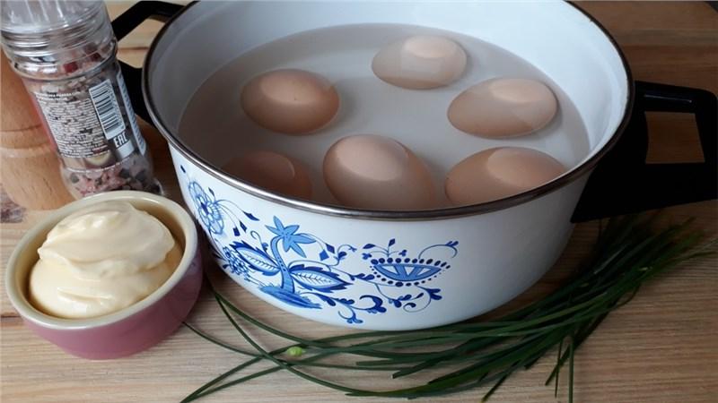 vajíčkový šalát